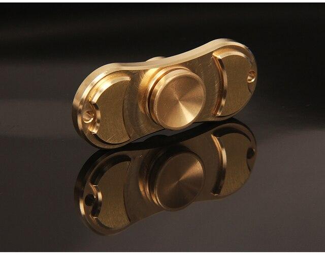 Fingertips Spiral Fingers Gyro Torq bar Brass Copper EDC Toys for Birthday Gift Hand Spinner gyroscope
