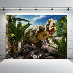 Image 3 - Dinosaur Photographic Backgrounds Vinyl Cloth Backdrops Photocall for Children for Photo Studios Photobooth Party Wall