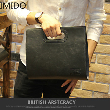 Designer Herren Geldbörse | IMIDO Business Casual Männer Leder Designer Handtasche Hohe Qualität Männlichen Brieftasche Berühmte Marke Männer Große Kapazität Kupplung Tasche Braun