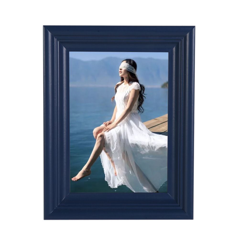 High Quality Blue Photo Frames Online Personalized Creative Wooden ...