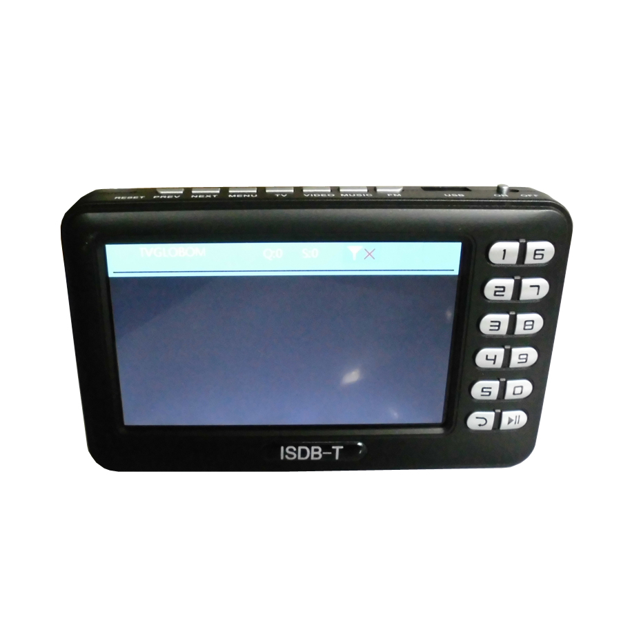 Digital ISDB T Mini Handheld TV with 4.3 inch LCD Screen (1)