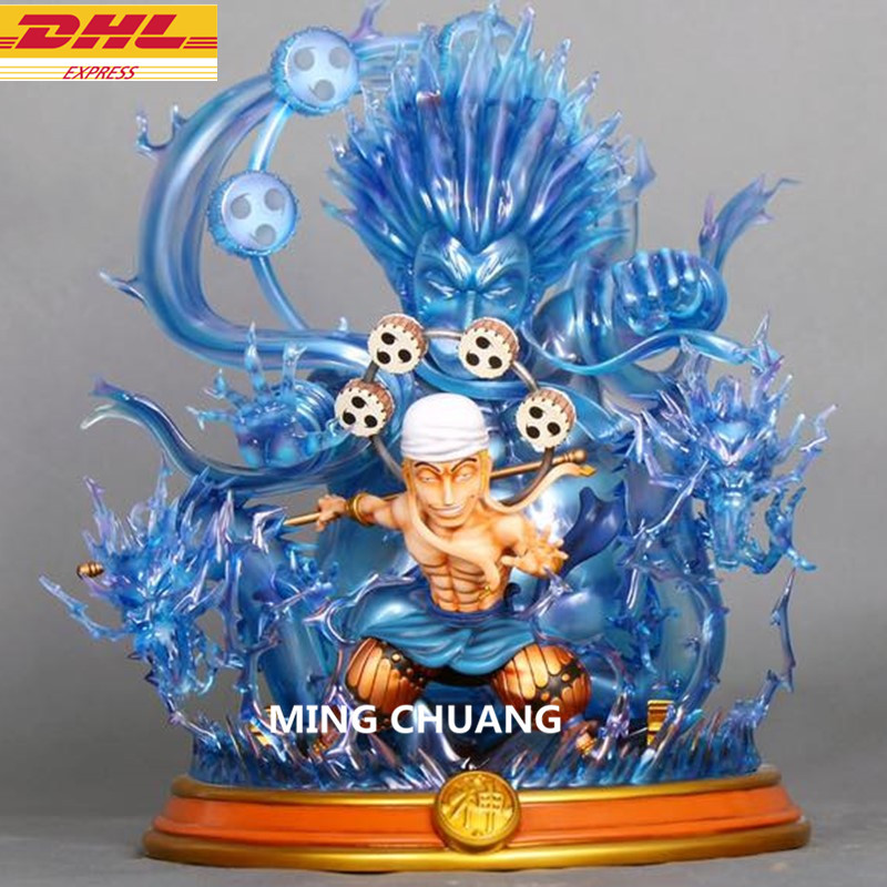 12ONE PIECE Statue Enel BBT Brontosaurus Bust GK Action Figure Collectible Model Toy BOX D62912ONE PIECE Statue Enel BBT Brontosaurus Bust GK Action Figure Collectible Model Toy BOX D629