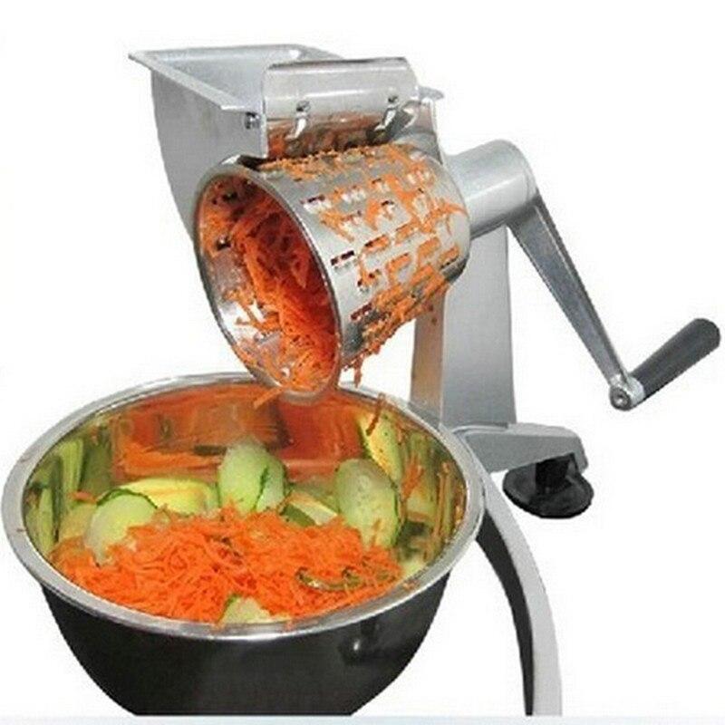 wholesale 10pcs vegetable chopper,Salad Grater Shredder vegetable Salad cutter with Five Cone Shaped Blades Food Processor