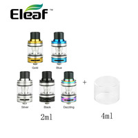 Hot Original Eleaf IJust ECM Atomizer 2ml Capacity Innovative Mesh Tank & 1pc/pack 4ml Pyrex Glass Tube Vape Vs Ijust S/Melo 4