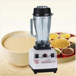 1pcs Commercial Blender With White 1200W 220V 205*230*510MM Blender Food Mixer Juice Maker TM-767