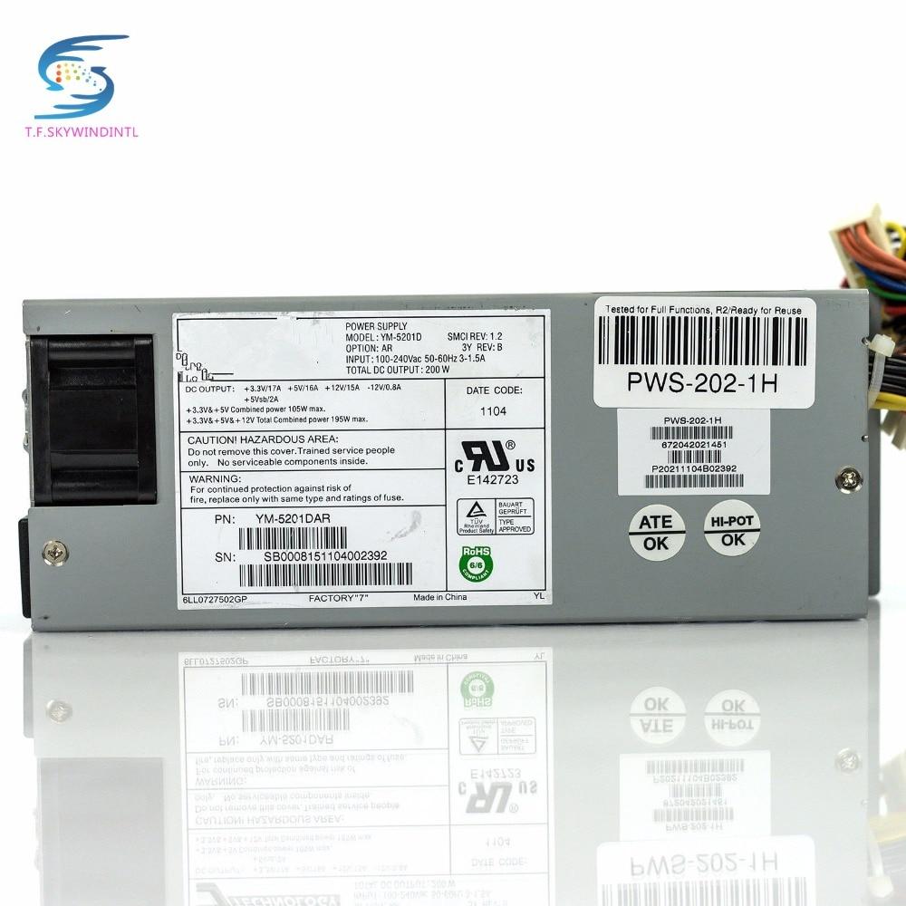 все цены на free ship YM-5201D PWS-202-1H 200W Low Profile Power Supply 20-Pin 6-Pin SATA IDE Mini 1U 200W Power Supply psu for network онлайн