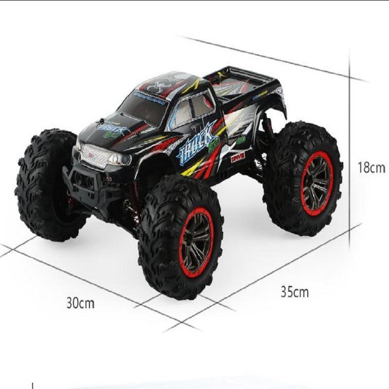 Горячая гоночный автомобиль 1:10 большой Масштаб Высокоскоростной автомобиль четырехприводный внедорожник модельный двигатель гоночный автомобиль внедорожный грузовик четырехколесный привод Монстр автомобиль - 6
