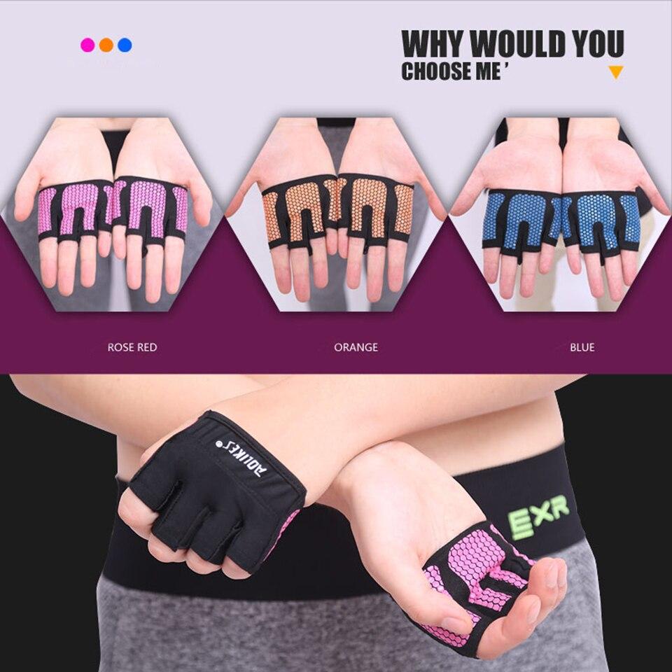 1 Pair Anti skid Men Women Dumbbell font b Weight b font Training Gym Gloves Body