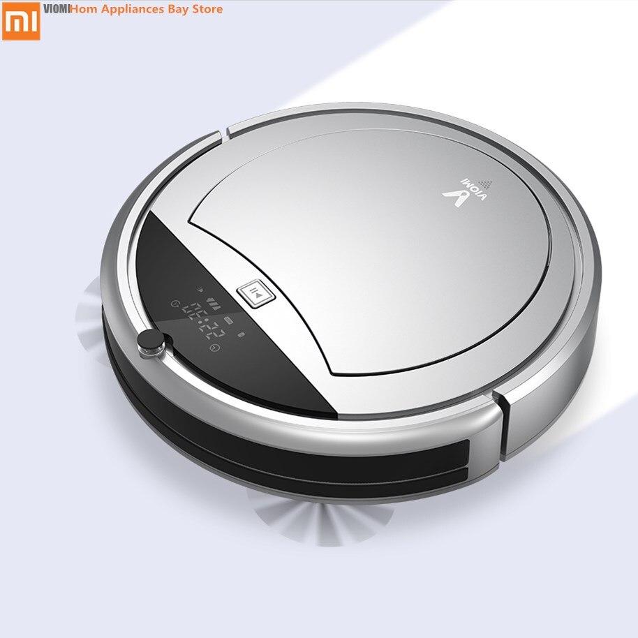 Originale Xiaomi Viomi Robot Aspirapolvere Casa più pulita Auto-Spazzare Polvere Smart Previsto App di Controllo A Distanza e Auto-Charger dock seting