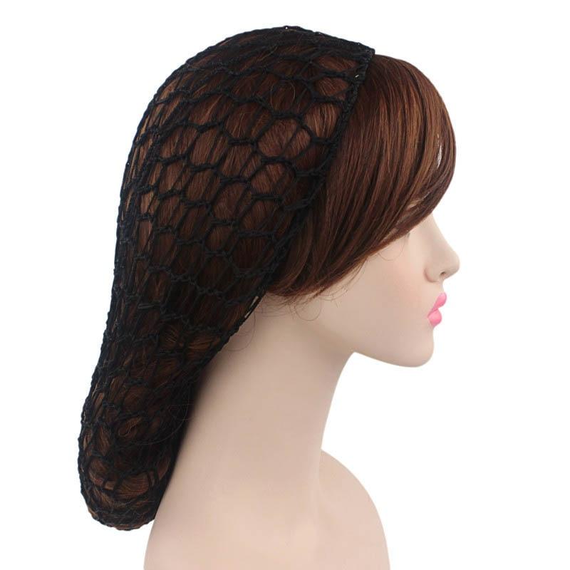 1 Pcs Frauen Dame Haar Netto Hut, Mütze Häkeln Design Atmungsaktive Zubehör Schlafen Ql Verkauf
