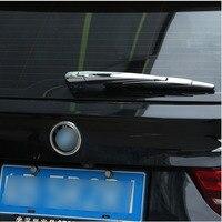 4pcs Set Rear Wiper Decorative Cover Trim Sticker For BMW X5 F15 2014 2015 2016 2017