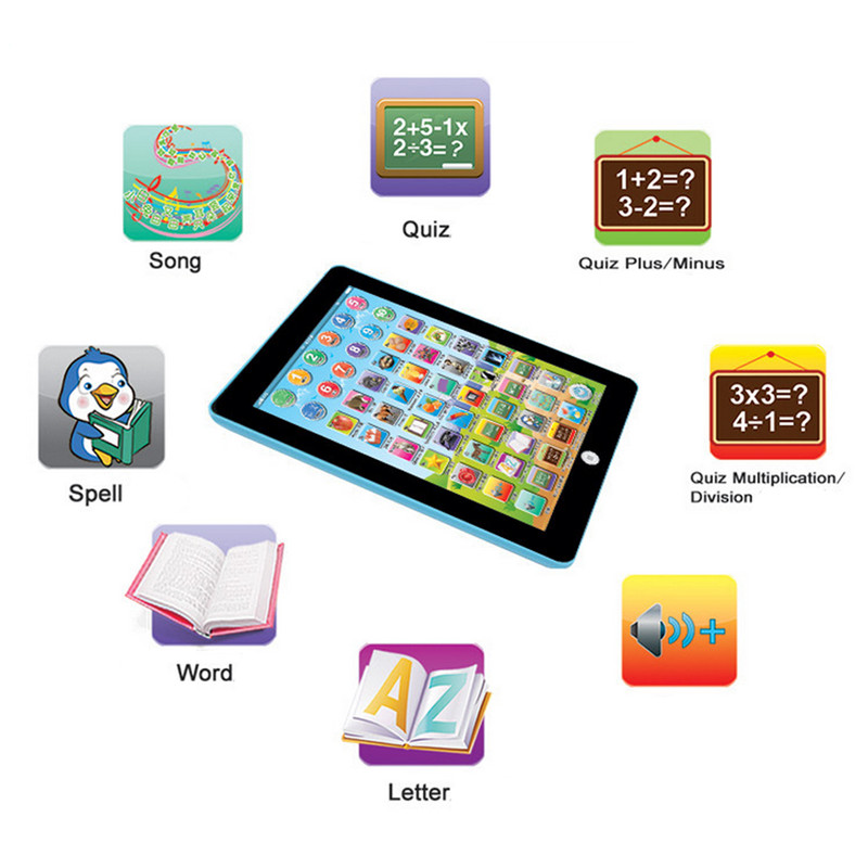 Action & Toy Figures Kids Children Tablet PAD Educational Learning Toys Gift For Girls Boys Baby Chinese English #