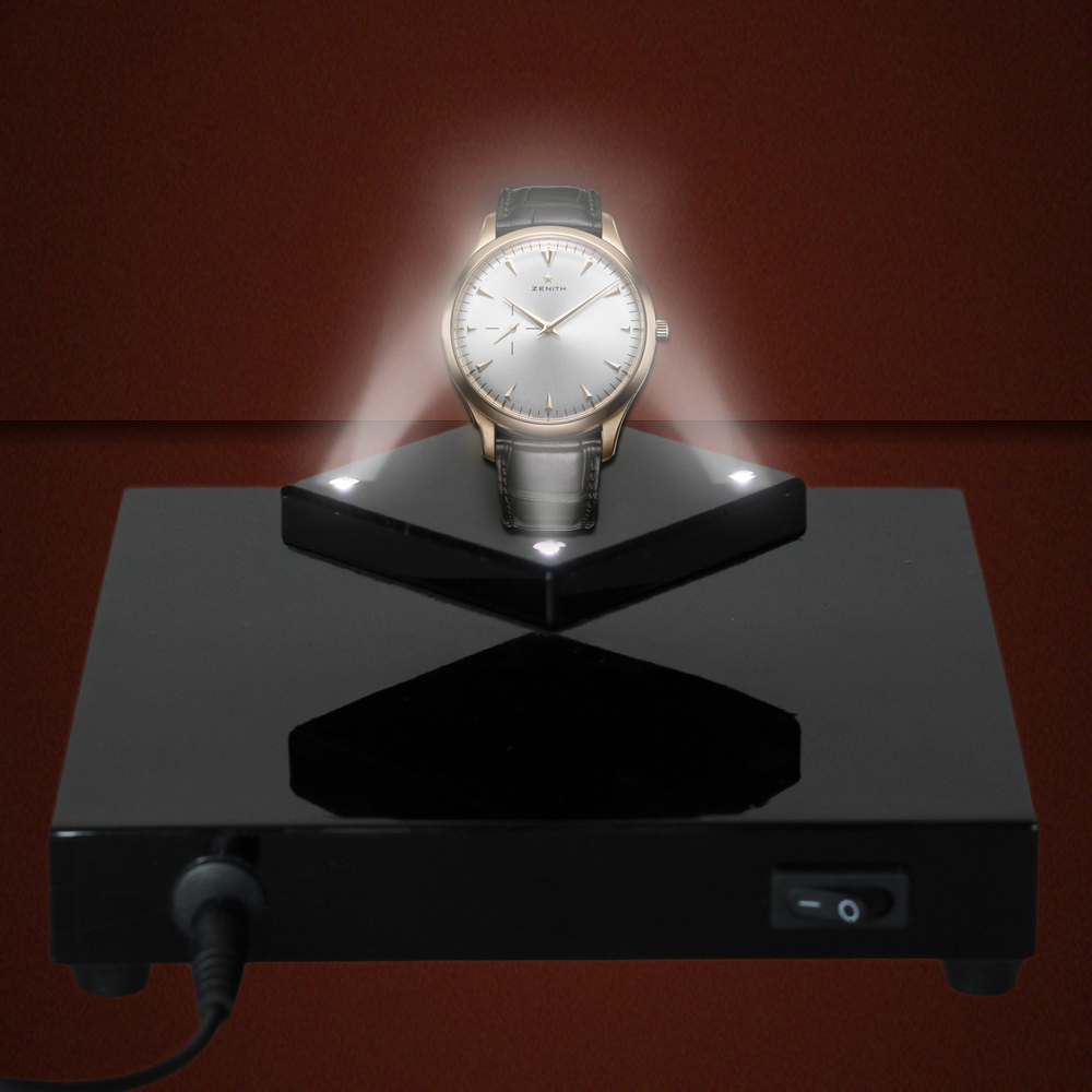 Magnetic levitation floating display stand base with light for magnetic levitation floating display stand base with light for jewelrynecklacewatch load 200g 110v 220v in table lamps from lights lighting on geotapseo Image collections