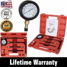 جهاز اختبار ضغط مضخة حقن الوقود ، مقياس ضغط البنزين ، 0 100 رطل/بوصة مربعة