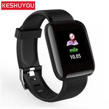 Купить с кэшбэком KESHUYOU D13  clock smart wristband  band smart bracelet fitness bracelet watch heart rate monitor sleep tracker smartband