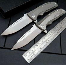 Efeng Maker 1 design Original ceramic ball bearing Flipper folding knife VG-10 TC4 Titanium handle camping hunting knife EDC(China (Mainland))