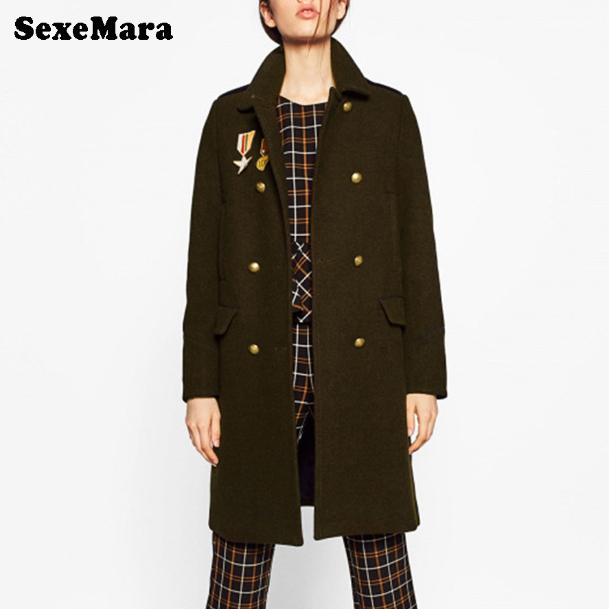 Online Get Cheap Ladies Military Style Coats -Aliexpress.com ...