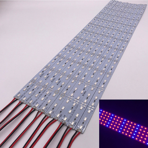 Image 1 - Necen 0.5M 10PCS 12V LED צמחים לגדול אור DC12V 5730 LED בר אור עבור אקווריום חממה צמח גדל 10 יח\חבילה