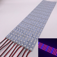 Necen 0.5M 10PCS 12V LED Plants grow light  DC12V 5730 LED Bar Light for Aquarium Greenhouse Plant Growing 10pcs/lot
