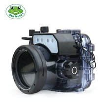 Seafrogs 60 м/195ft подводный Камера Водонепроницаемый Корпус чехол для sony RX100/RX100 II/RX100 III/Melo III RX100 Характеристическая вязкость полимера/RX100 V