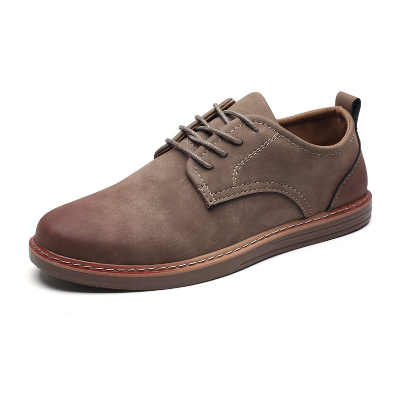 fashion leather casual shoes men comfortable leisure moccasins cheap dress male footwear work elegant boy oxford shoes for m