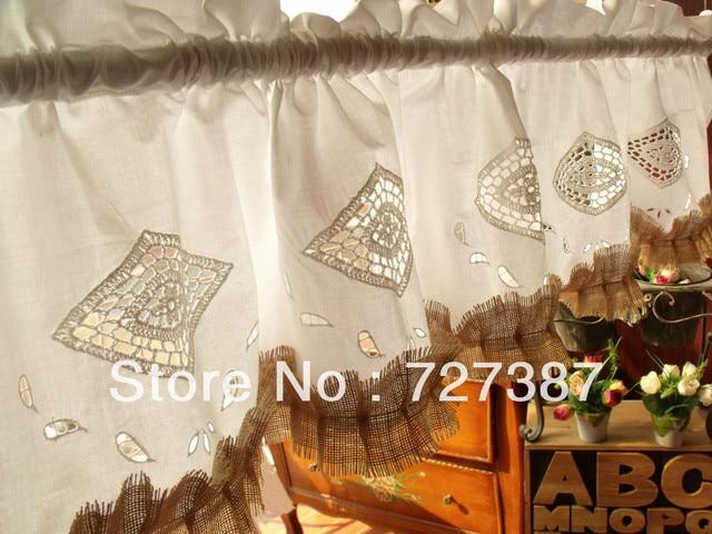 Toda la venta ~ ~ Shabby Chic francés país rústico arpillera ventana ...
