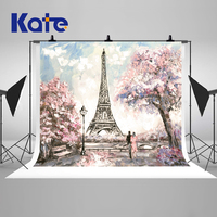 VinylBDS 10x10FT Wedding Photography Backdrops Eiffel Tower Backgrounds Photo Studio Children Backdrops