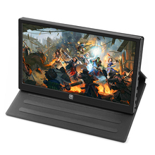 Gaming 13.3 Inch IPS 1920*1080 USB-C With PD Fast Charge Portable Aluminum Display USB C/HDMI Video Input Portable LCD Screen