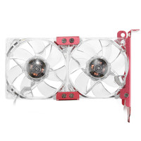 12V 15dBA PC Cooler LED Graphics Card Cooler 80mm VGA Mate 1400RPM Mute Cooling Fan Cooler