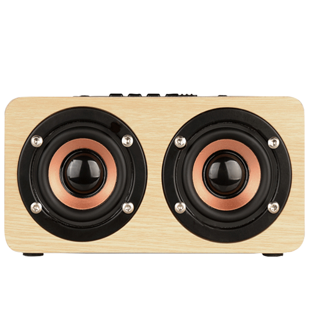 skw Wireless Bluetooth Speaker Wood Portable Audio HiFi Home Theatre Sound Receiver Stereo Music Subwoofer Computer Speakers 20w portable wooden high power bluetooth speaker dancing loudspeaker wireless stereo super bass boombox radio receiver subwoofer