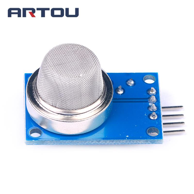 1PCS MQ-2 Smoke liquefied Flammable Gas Sensor Module Methane Gas Sensor Module