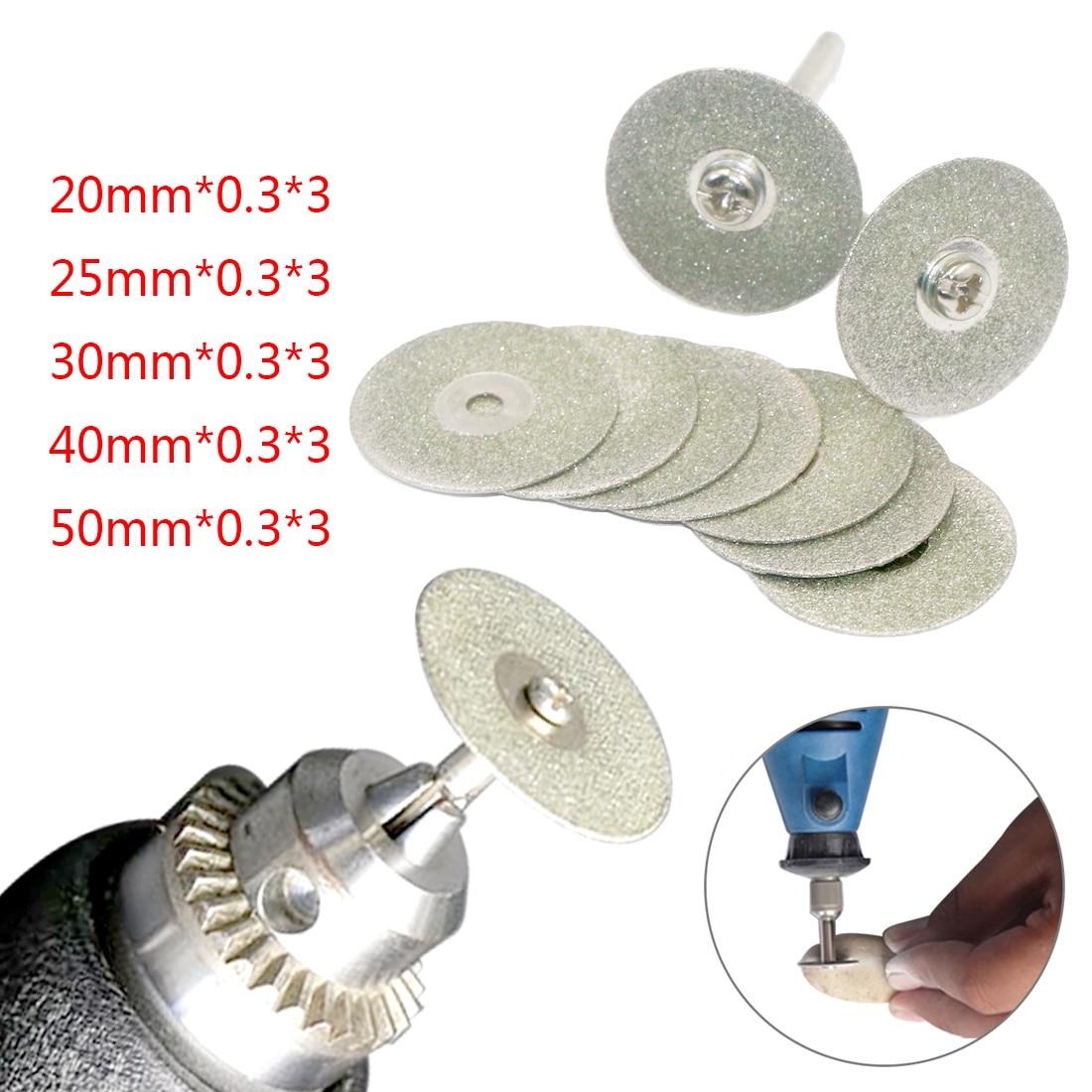 20mm Accessories Diamond Grinding Wheel Saw Mini Circular Saw Cutting Disc Rotary Tool Diamond Disc For Dremel Rotary Tools