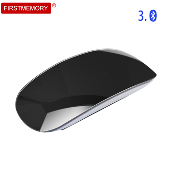 Wireless Bluetooth Computer Mouse Ultra thin Touch Scroll Magic Mause 1600DPI Ergonomic Optical Mice For Apple Macbook Laptop PC bluetooth wireless computer mouse arc touch ergonomic optical 3d mause 1200dpi folding mini bt mice for iphone microsoft surface