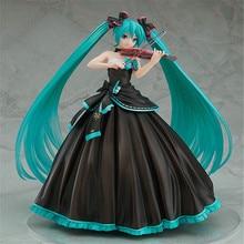 все цены на 2019 NEW PRODUCT Anime Vocaloid Hatsune Miku Sakura Action Figures Collection Model Toys Sexy Speelgoed Girls Pvc figure онлайн