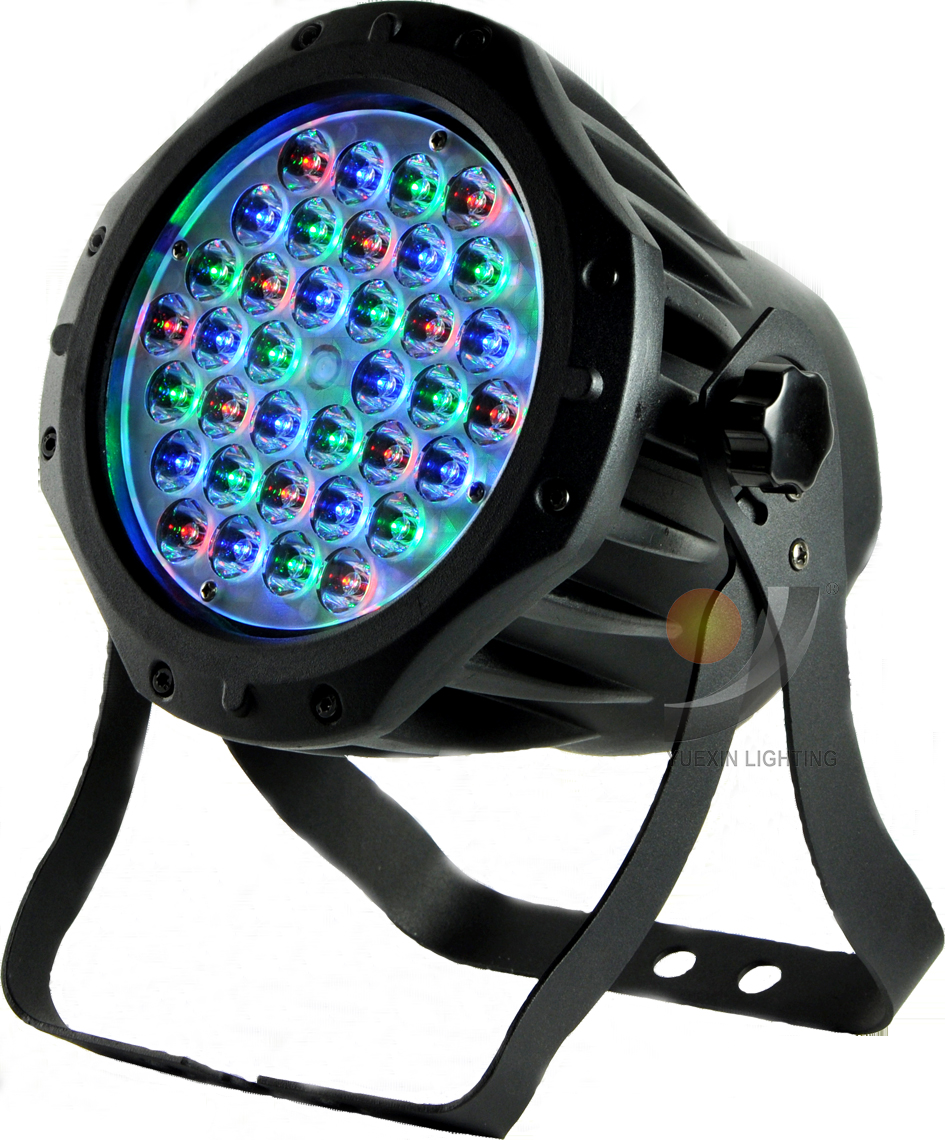 Led par 36x1w wash dmx par light american IP65 dj par rgb dmx led par light led waterproof lamp