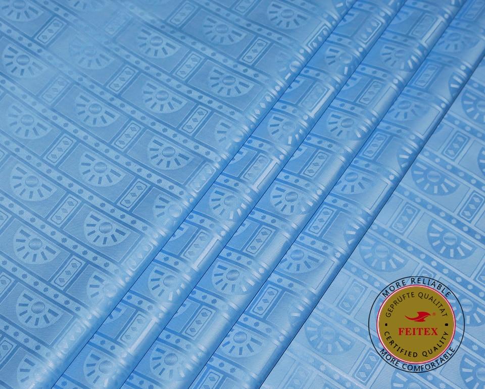 새로운 도착 기니 브로케이드 패브릭 100 코튼 스카이 블루 bazin riche getzner 2019 아프리카 bazin 부자 패브릭 최고 품질 10 yard/lot-에서직물부터 홈 & 가든 의  그룹 2
