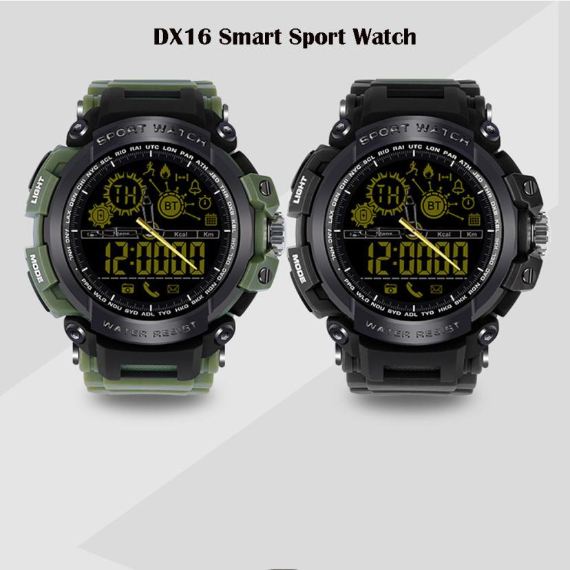 New Sports Smart Watch Bluetooth IP67 Waterproof Remote Camera Running Equipment for Android and IOS Smartphone