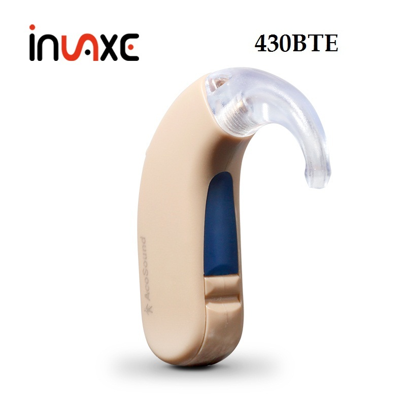 Invaxe 430BTE Digital Hearing Aid Amplifier 4 Channels Natural Tone For The Elderly Mini Ear Care Device Comfortable to Wear мульти пульти мягкая игрушка мульти пульти попугай голубчик