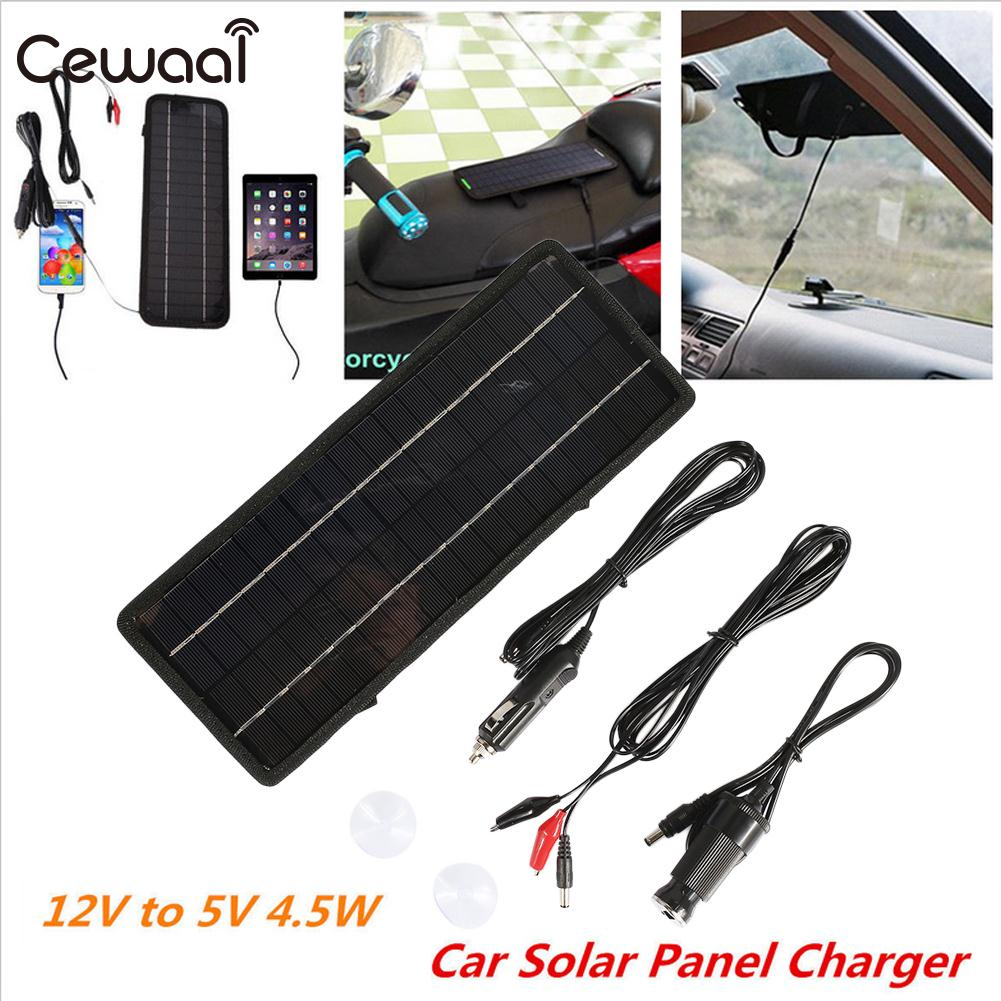 Emergency Power Supply Fast Charger USB+DC Port+Car Charger Solar Panel Durable Phone Charger Solar Generator Travel