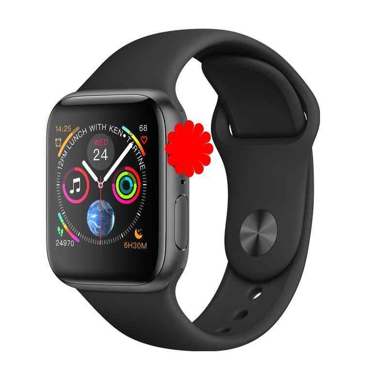 Montre intelligente 44CM Bluetooth SmartwatchIWO 8 série 4 pour Samsung Xiaomi Huawei ios Apple iphone 5 6 7 8 X XS MAX XR iwo montre