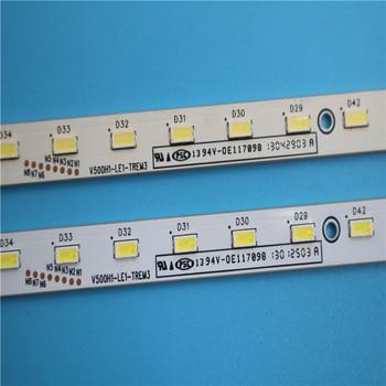 2 PCS LED backlight V500H1-LE1-TREM3 56LED 620MM for LED50R5100DE V500HK1-LS5 621mm led backlight strip for hisense 50e550e v500h1 le1 trem3 v500hk1 ls5 led50k360x3d led50r5100e le50a900k 50e6crd 075877n31a