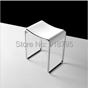 Wondrous Us 470 0 Solid Surface Stone Small Bathroom Step Stool Bench Chair Bathroom Steam Shower Stools 16 X 12 Inch Sw140 In Bathroom Chairs Stools From Creativecarmelina Interior Chair Design Creativecarmelinacom