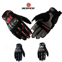 SCOYCO MC20 female and men's Motorcycle gloves carbon protective motorbike moto glove touch phones size M L XL XXL