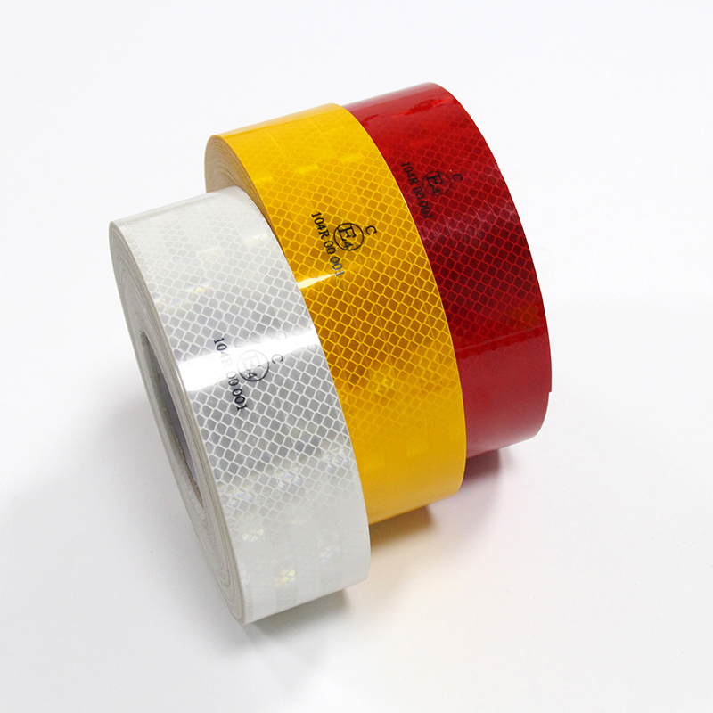 PET 5cm X 45m Reflective Tape Sticker Safety Warning Road Safety Accessories Auto Motorcycle Reflective Materials