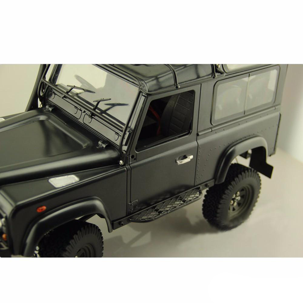RC 1//10 CNC Metal Side Pedal Plate for Land Rover Defender Gelande II D90 Truck