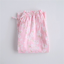 New Spring Women's Sleep Bottoms Floral Pajamas Pants Trouse