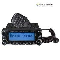 Zastone ZT D9000 мобильное радио 512 Channel 50 Вт ЖК экран VHF/UHF дисплей Мобильный Ham Радио AM FM ленточный воздухосборник релейная станция
