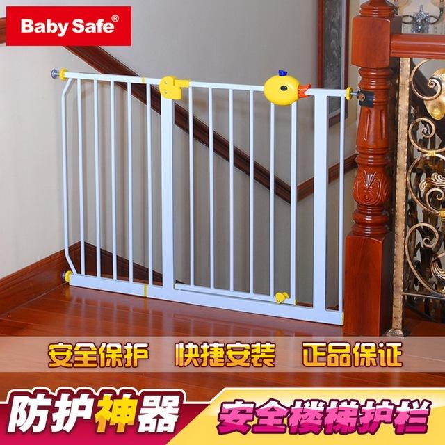 Válvula de aislamiento de babysafe puerta de niño del bebé cerca de la escalera cerca del animal doméstico perro barandilla rejilla