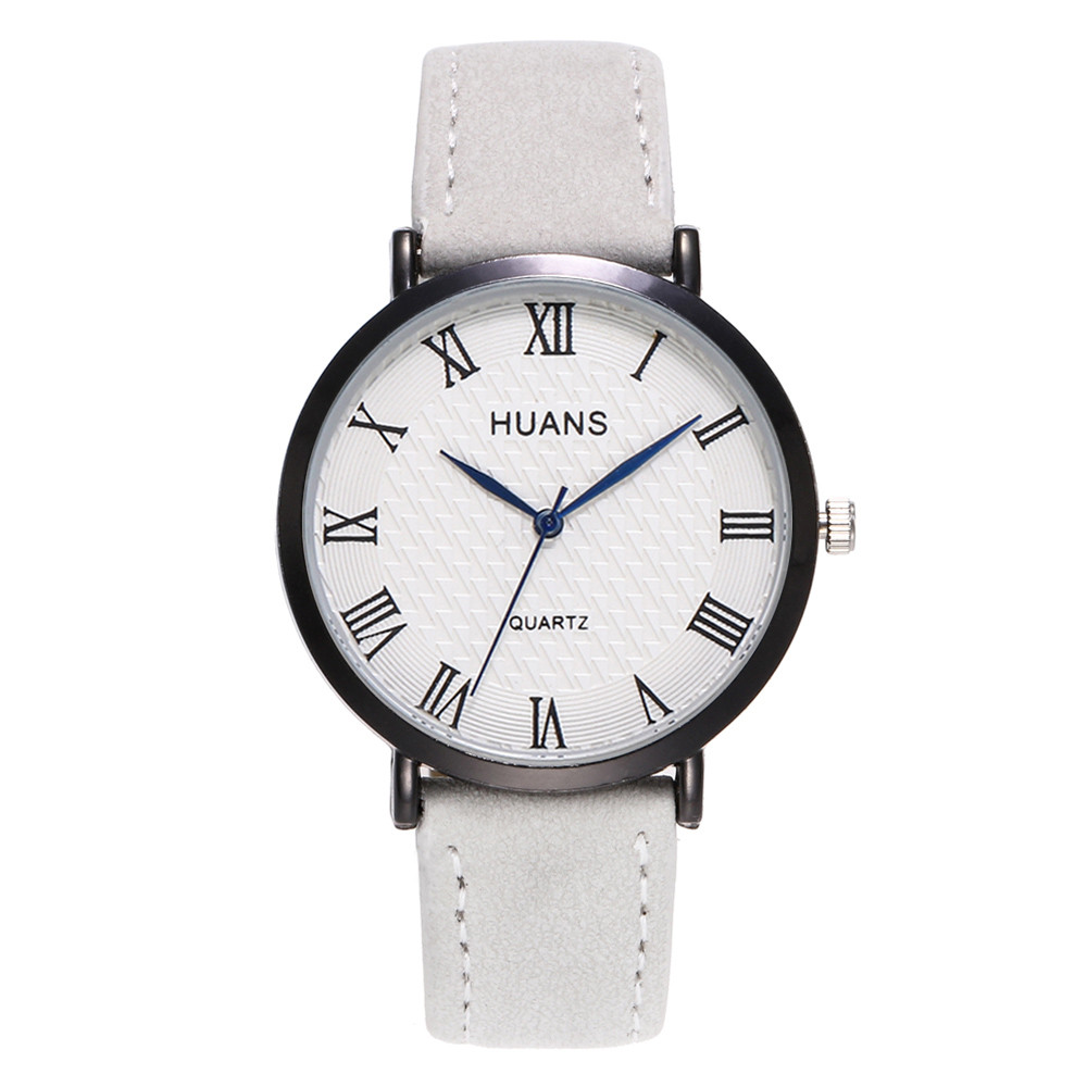 Business Brand Luxury Casual Men's Women Watches Stainless Steel Leather Strap Wrist Watch Fashion Relogio Masculino Saat Gift
