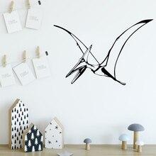 купить Removable dinosaur Environmental Protection Vinyl Stickers For Kids Rooms Home Decor Removable Decor Wall Decals LW73 по цене 307.42 рублей